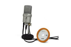 G-Track Mikrofon mit Kabeln