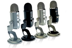 Modelreihe Yeti Microphones